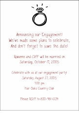 Engagement Ring Invitation