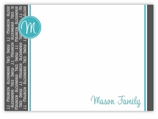 Family Repeat Note Card Horizontal