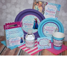 Frozen Ice Princess Party Supplies
