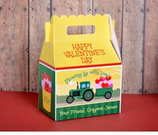 John Deere Tractor<br>Valentine's Day Treat Box