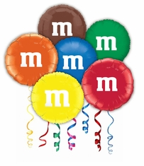 M&M's Mylar Party Balloons