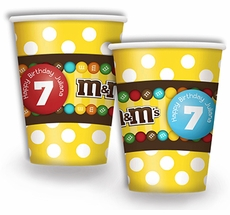 M&M's Personalized Party Cups