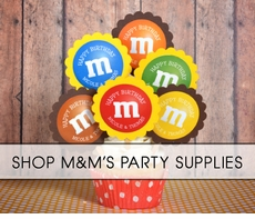 M&Ms Party Supplies