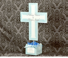 MADE-TO-MATCH<br>Personalized Baptism Table Centerpiece