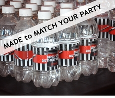 MADE-TO-MATCH<br>Personalized Water Bottle Labels
