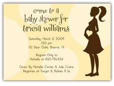 Mod Momma Baby Shower Invitation