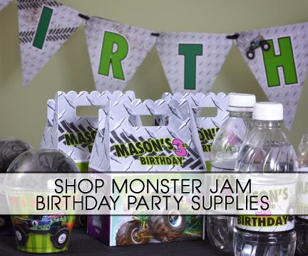 Monster Jam Grave Digger Truck Party Supplies