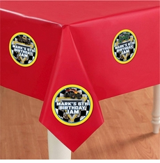 Monster Jam Party Table Cover