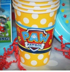 Paw Patrol Birthday Party Personalized Party Cups