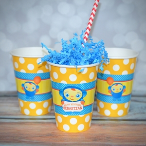 Peek-A-Boo Personalized Party Cups