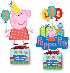 Peppa Pig Party Large Table Centerpiece