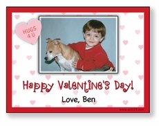 Photo Border Personalized Valentine