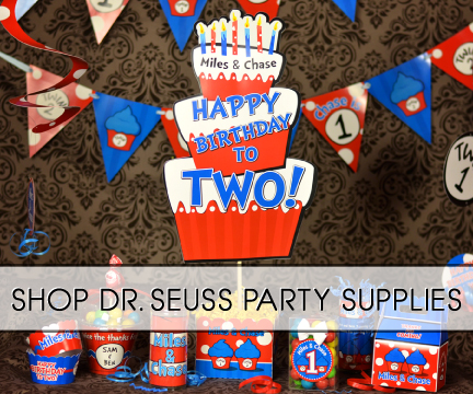 Thing 1 2 Dr Seuss Party