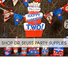 Thing 1 & Thing 2 Dr. Seuss Party