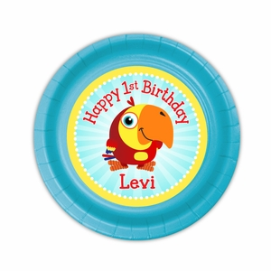 VocabuLarry Party Personalized 7inch Cake Plates  sc 1 th 225 & Party Personalized 7inch Cake Plates