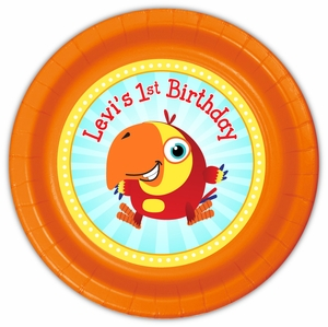 VocabuLarry Party Personalized 9inch Meal Plates