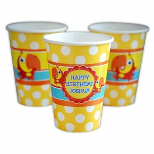 VocabuLarry Personalized Party Cups