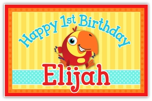 VocabuLarry Personalized Party Posters