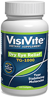 Eye Floaters Reduced Symptoms with VisiVite Dry Eye Relief