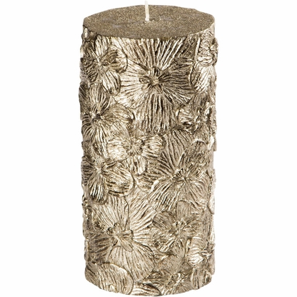 Black Orchid Pillar Candle