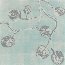 Botanical Leaf Luncheon Napkin