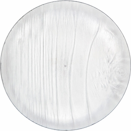 Clear Twig Luncheon Plate