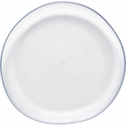 Pebble Clear Plastic Luncheon Plate