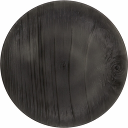 Translucent Black Twig Luncheon Plate