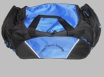 Time Travel Academy blue duffel bag  7002