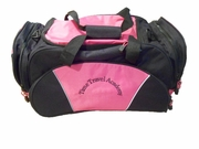 Time Travel Academy Pink duffel bag 8050