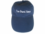 Time Travel Games™ baseball cap ( blue)