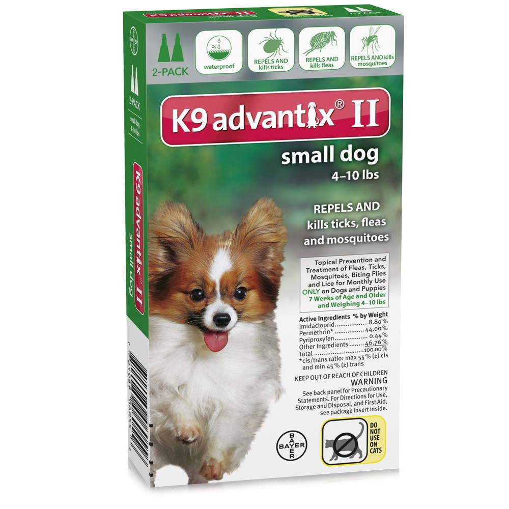 2 month k9 advantix ii green small dog for dogs up to 10 lbs 27