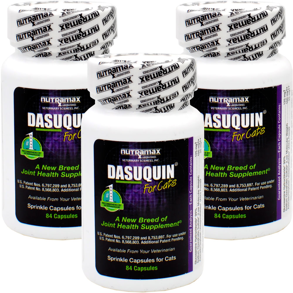 3 pack dasuquin for cats 252 caps 54