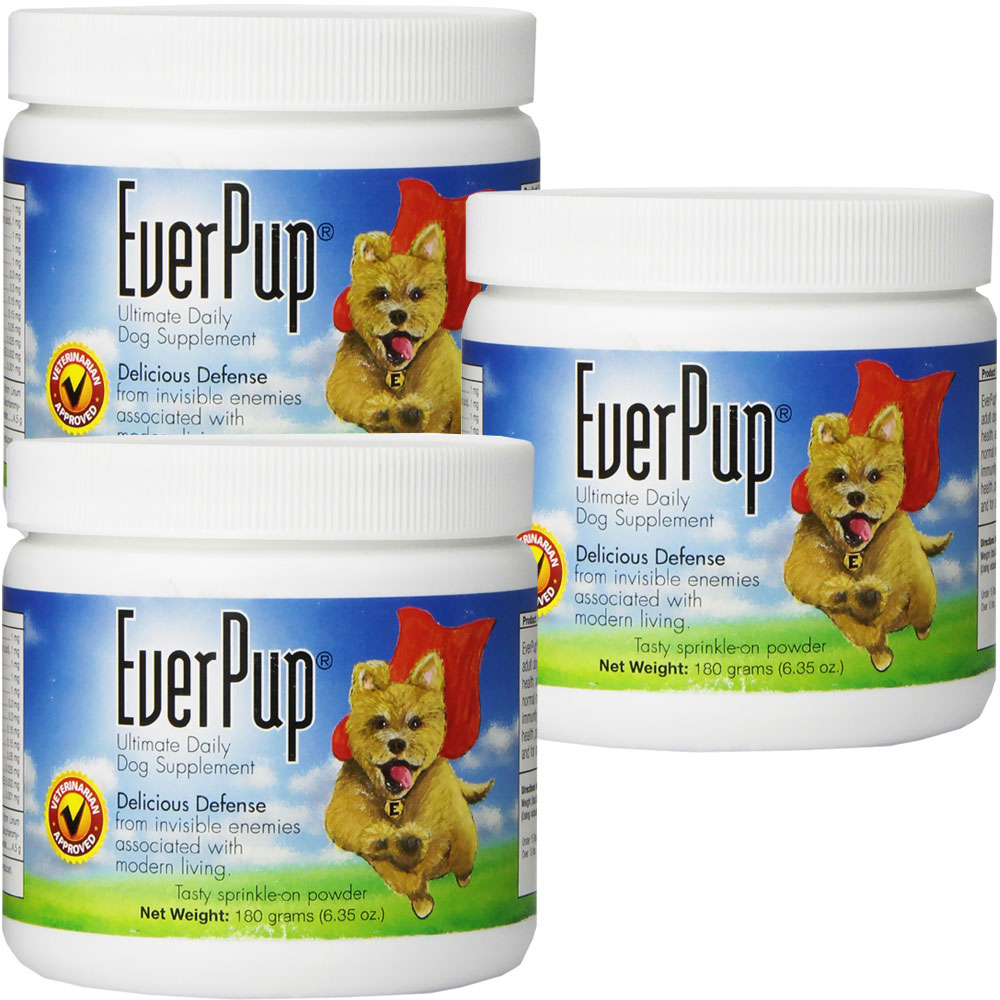 3 pack everpup ultimate daily dog supplement 6 35 oz 39