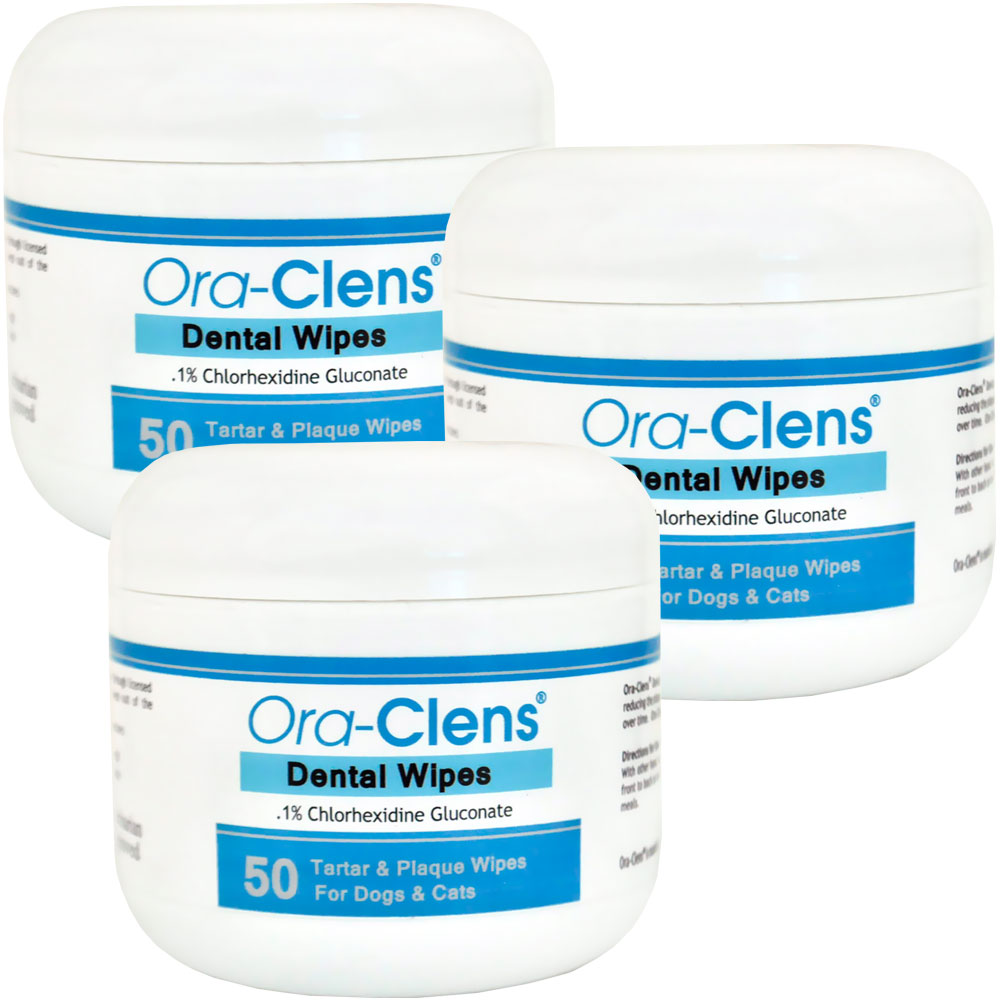 3 pack ora clens dental wipes 150 count 40