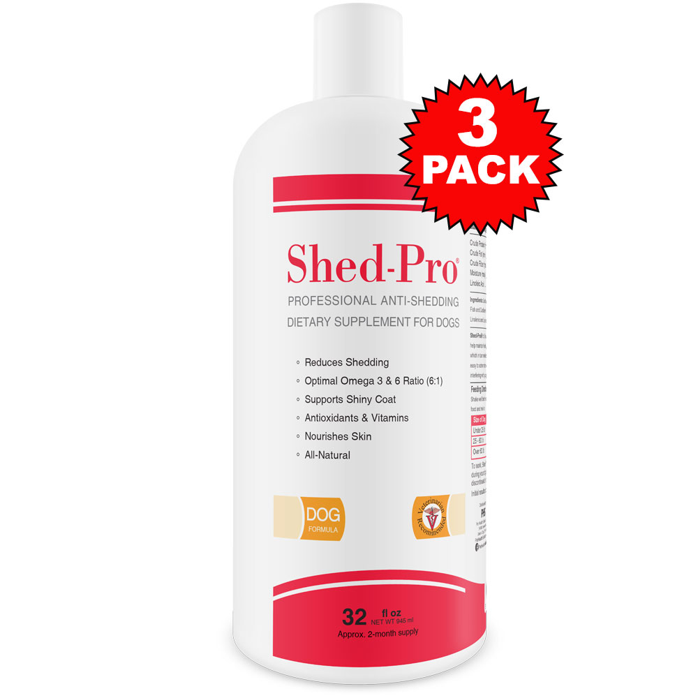 3-PACK Shed-Pro for Cats (96 fl oz) SHEDPRO24C3PK