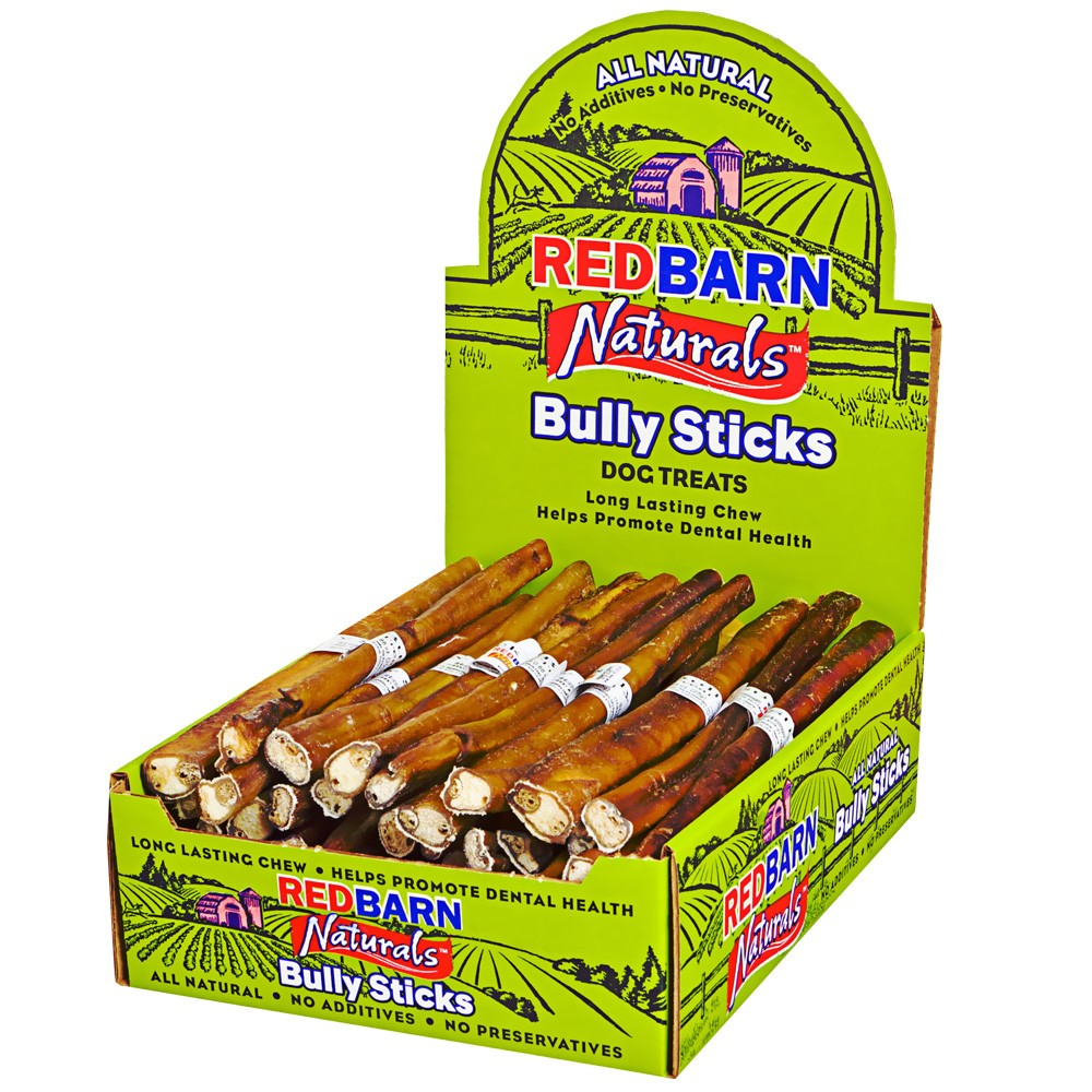 50 pack redbarn 9 bully stick. Black Bedroom Furniture Sets. Home Design Ideas