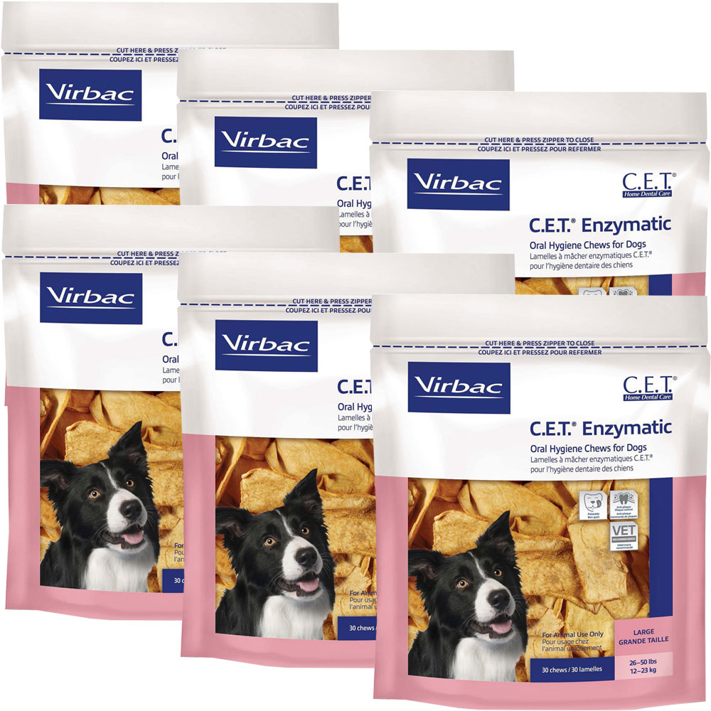 6 pack cet chews for large dogs 180 chews 13