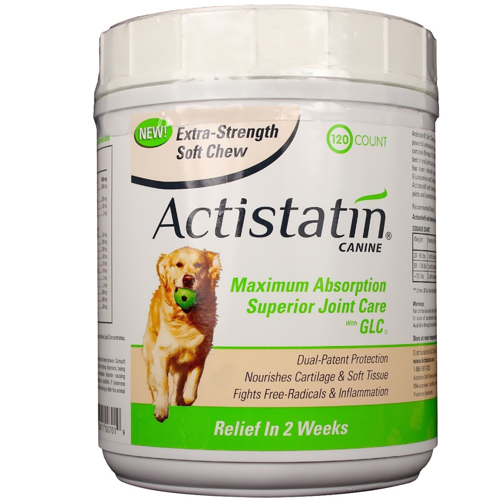 Actistatin canine extra strength soft chews large 120 ct 13