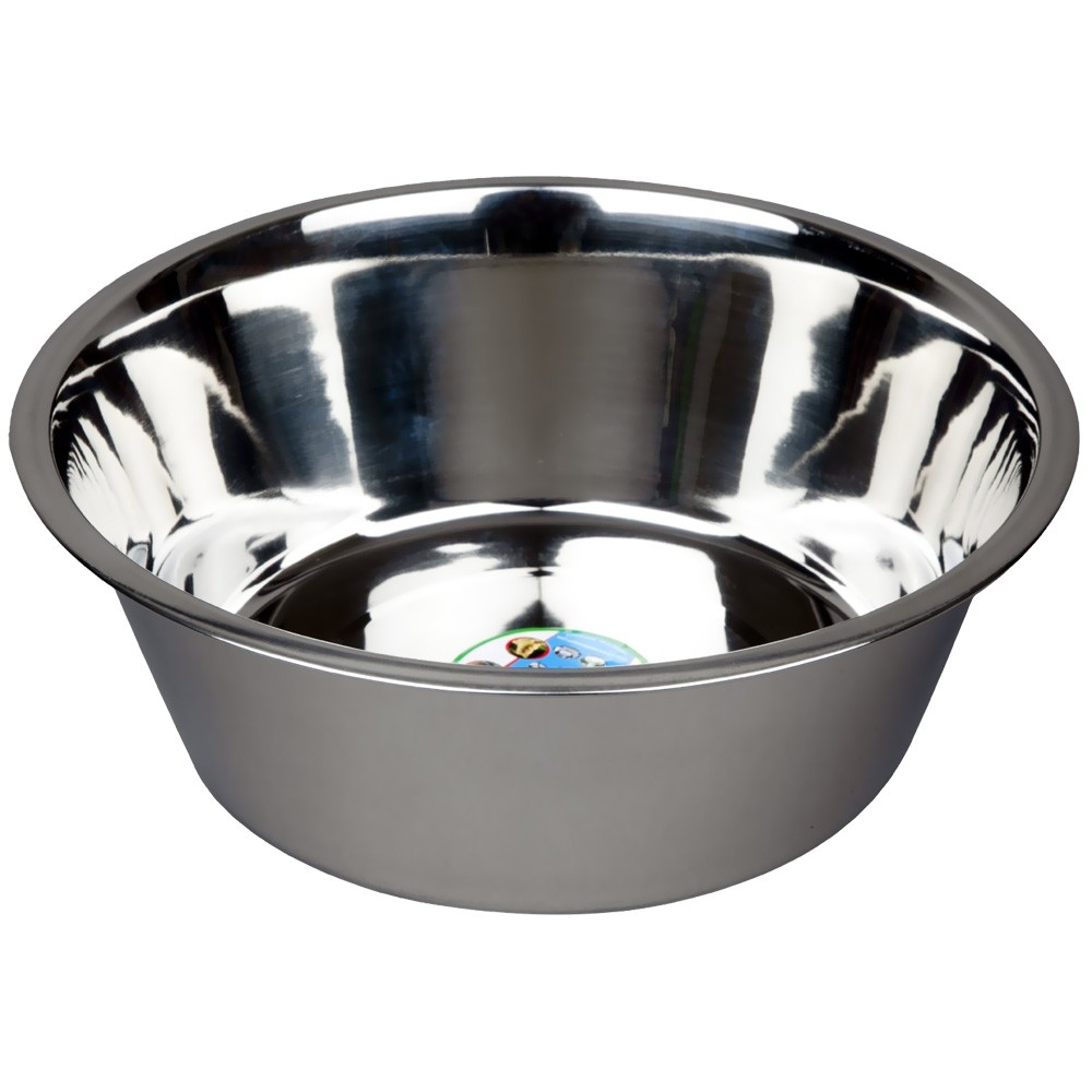 Advance pet products stainless steel feeding bowls 5 quart 12