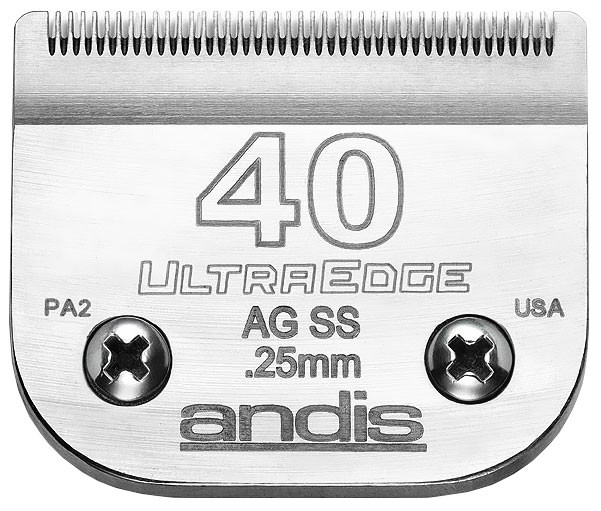Andis ultraedge clipper blade size 40ss 10