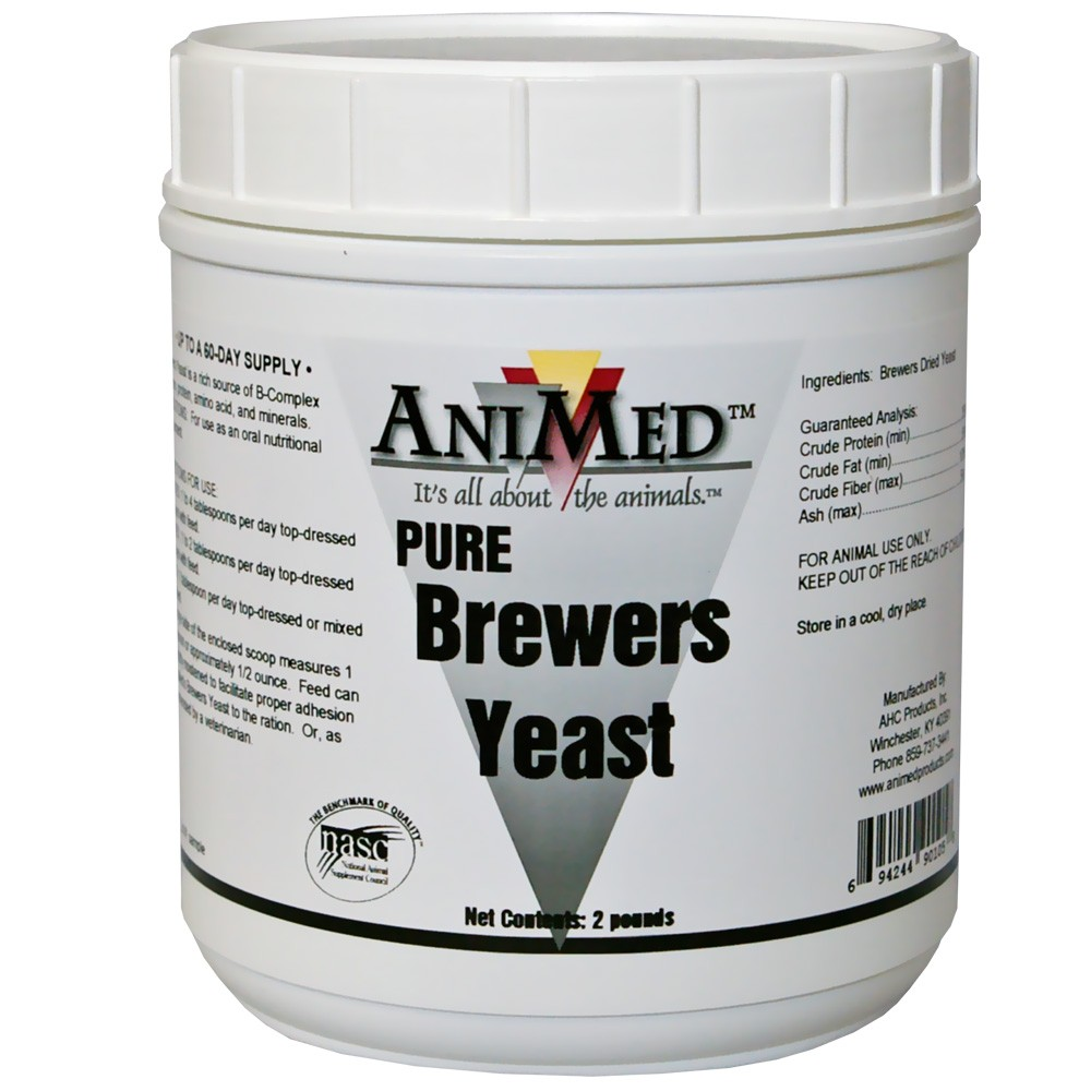AniMed Brewers Yeast Pure (2 lb) 90105