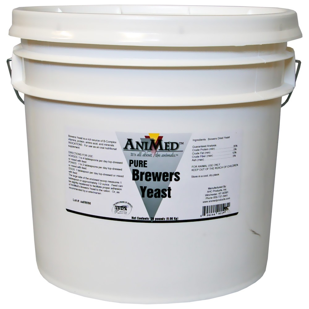 AniMed Brewers Yeast Pure (20 lb) 90107
