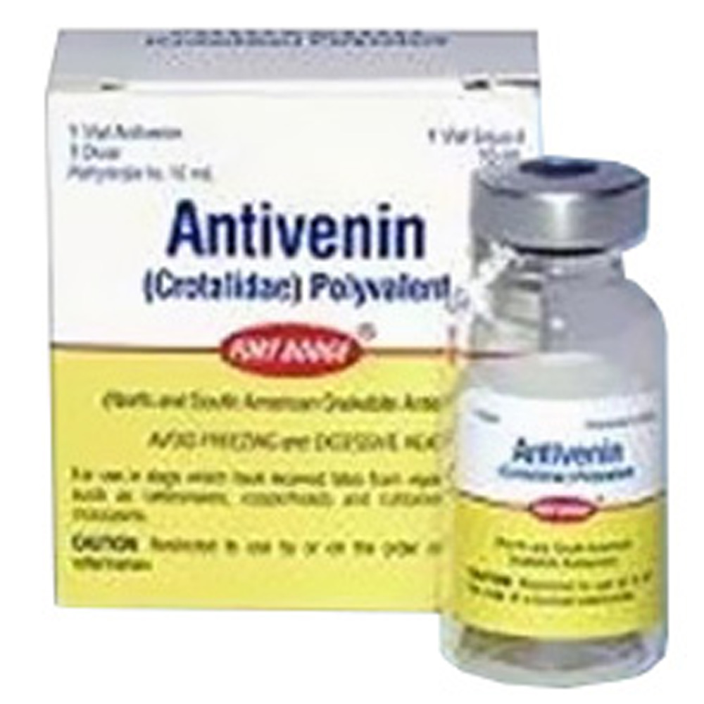 Antivenin (10ml vial) (Manufacture may vary)