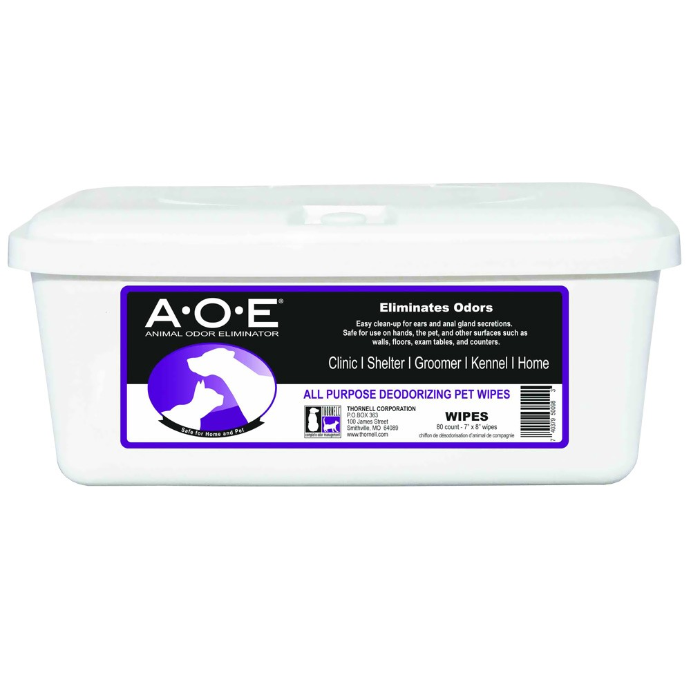 AOE Animal Odor Eliminator Wipes (80 count) IWM028855