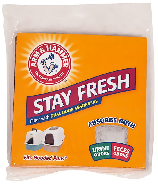Arm & Hammer Universal Cat Odor Filter 29212