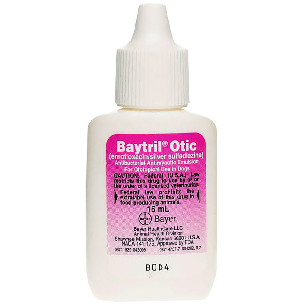 Baytril Otic. Drop 15ml