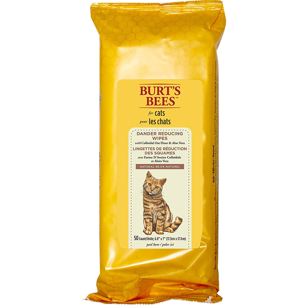 Burt's Bees Dander Reducing Wipes for Cats (50 count) FFP7372