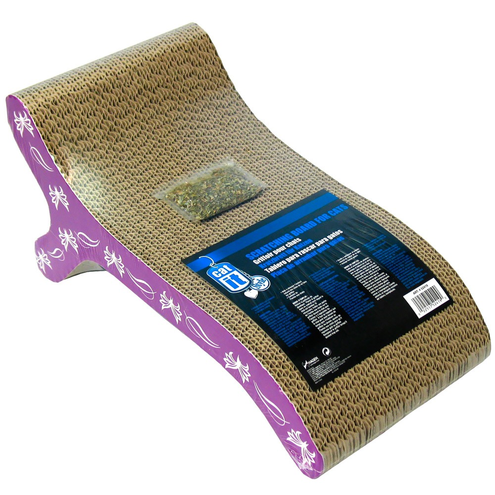 Catit Style Scratcher with Catnip - Chaise 52419