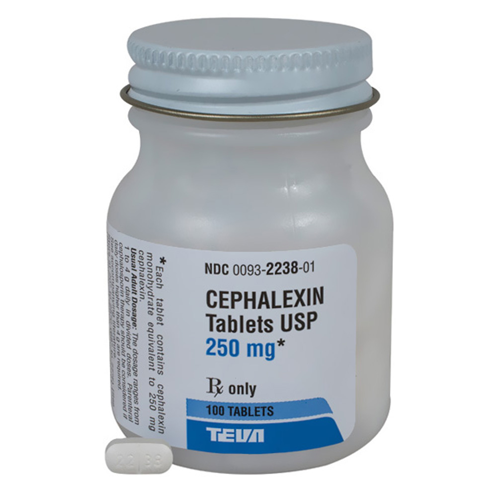 much prescribed adult how cephalexin is to